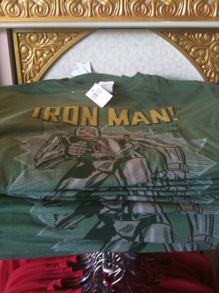 Green Iron Man T Shirt