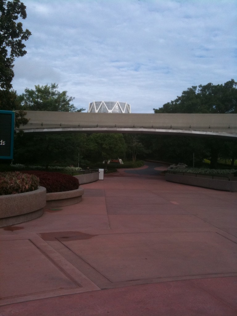 The Land and Monorail Track