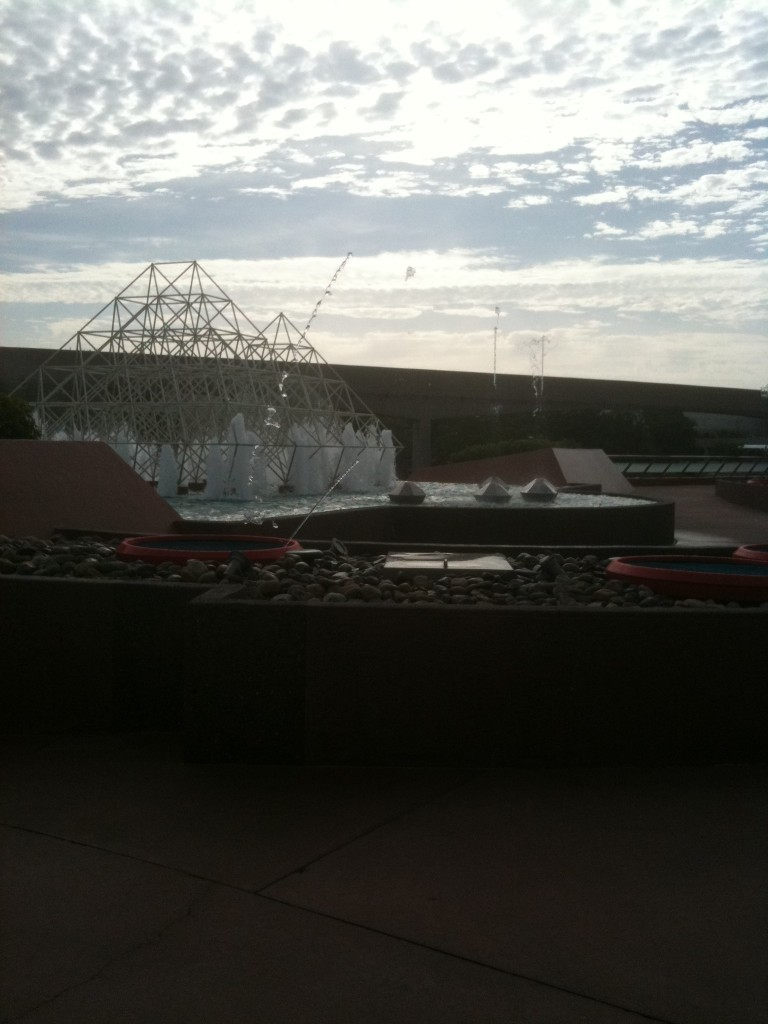The Dancing Fountains at the Imagination Pavilion