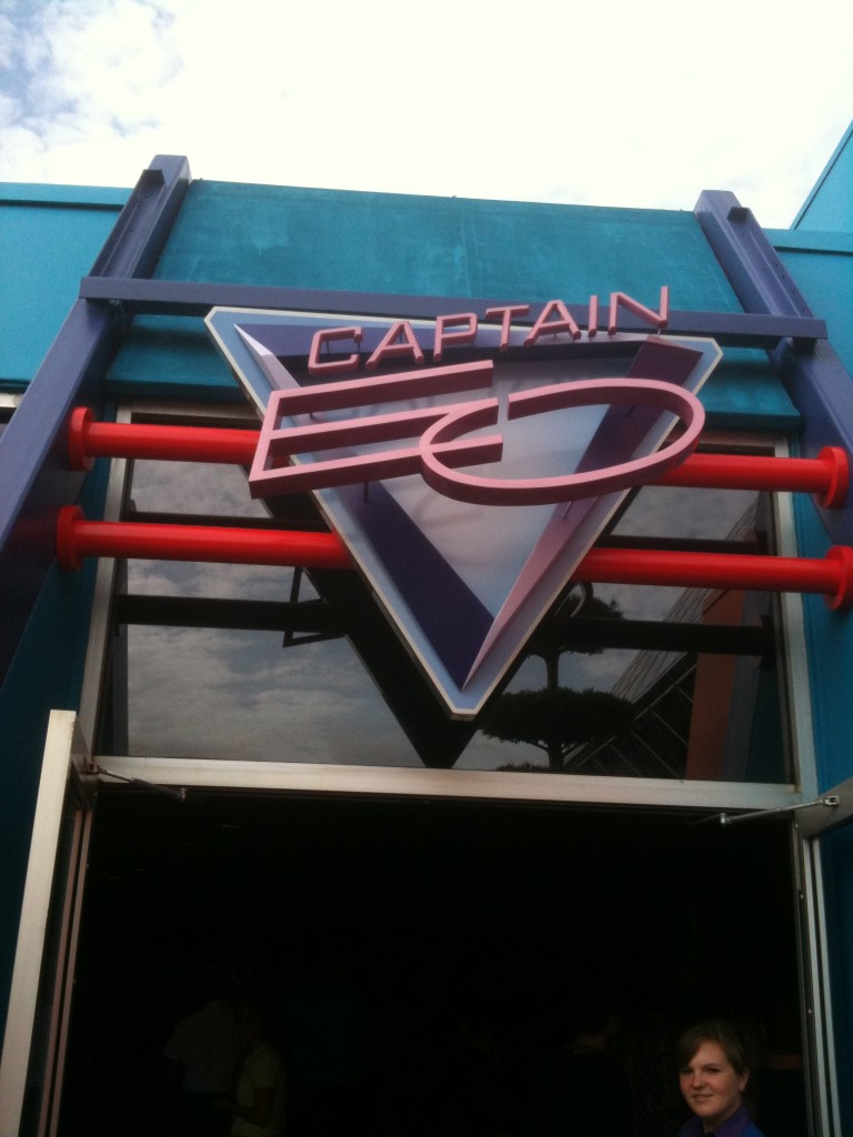 Original Captain EO Sign