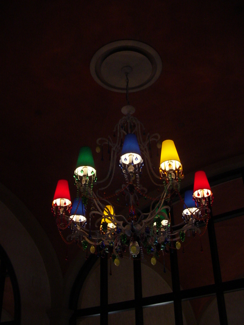 Via Napoli Entry Chandelier