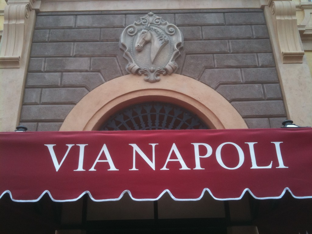 Walt Disney World's Via Napoli