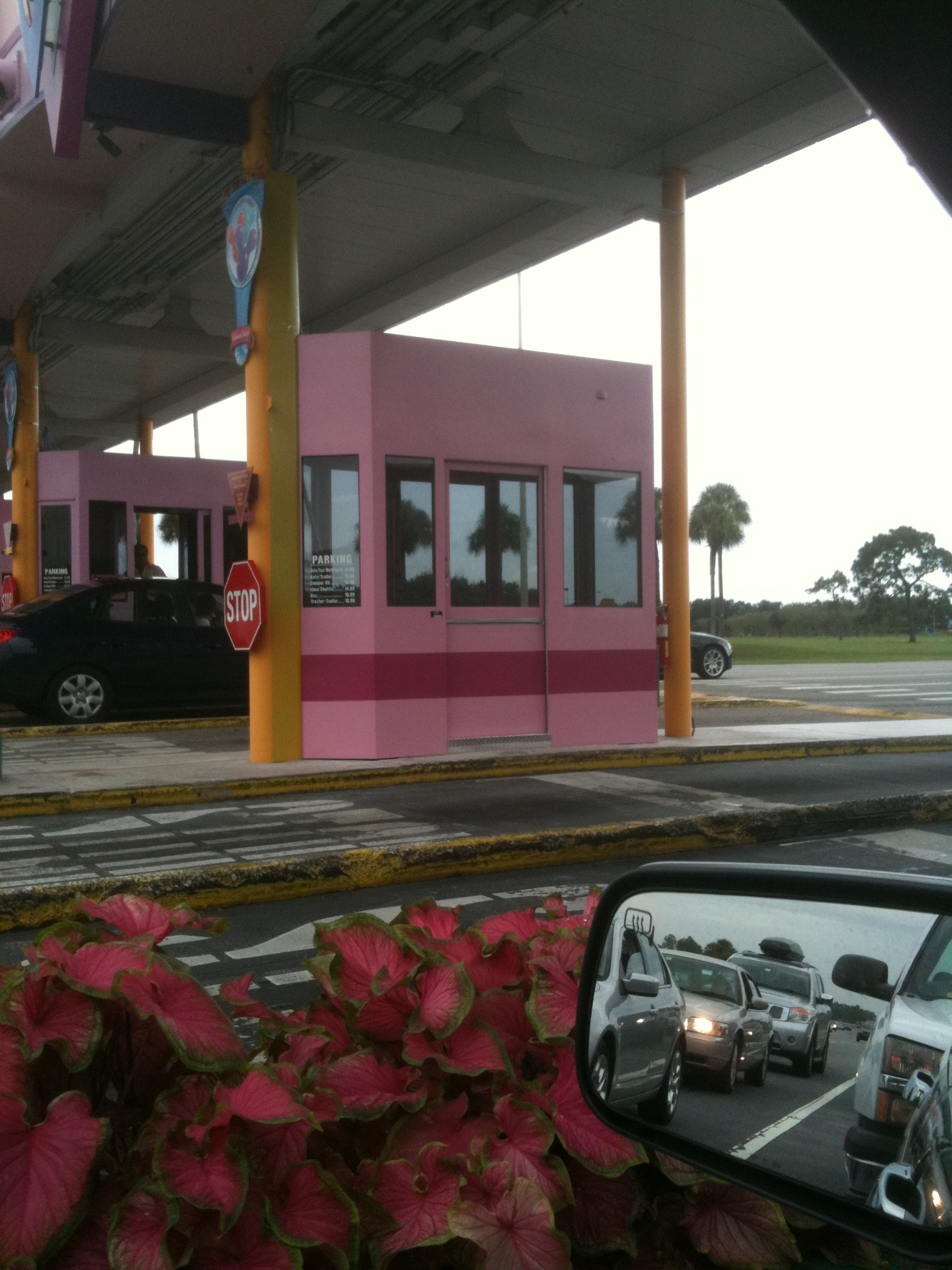 Toll Booths Replaced at the Magic Kingdom Main Entrance   Disney ...