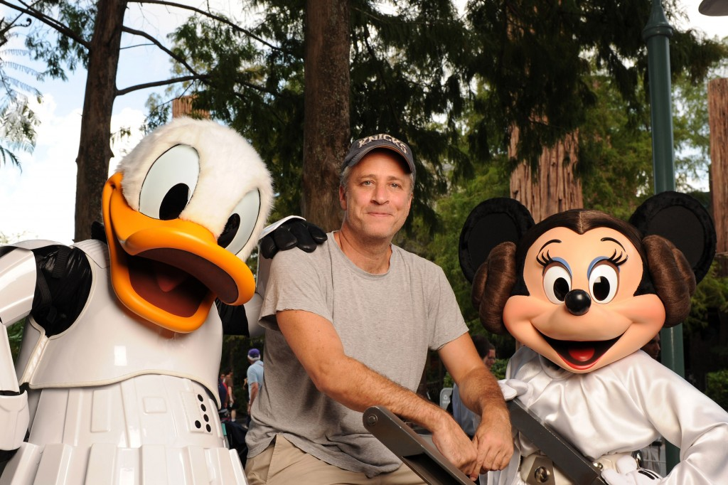 The Daily Show Host Jon Stewart at Disney's Hollywood Studios