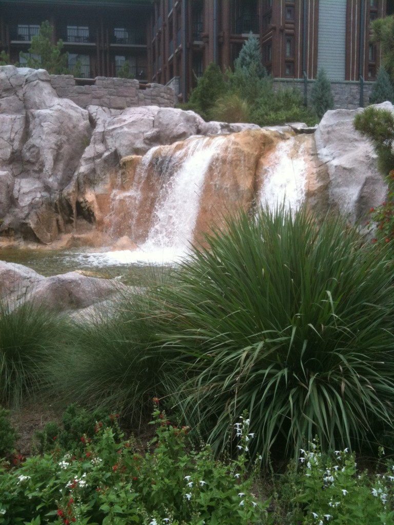 Wilderness Lodge Waterfall