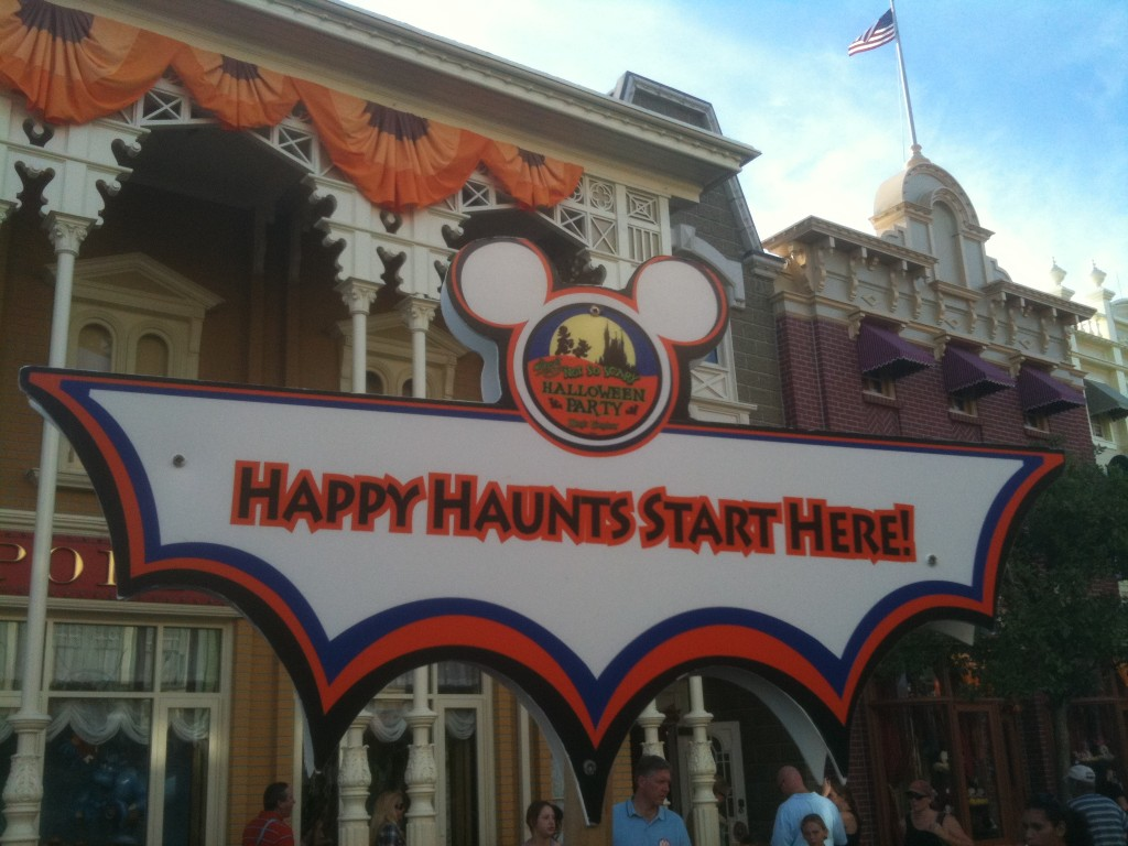 Report from Mickey's Not So Scary Halloween Party 2010 at the Magic Kingdom