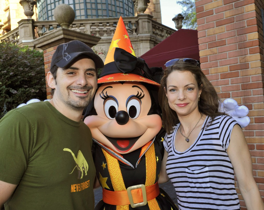 Country Music Star Brad Paisley Celebrates His Birthday in the Magic Kingdom