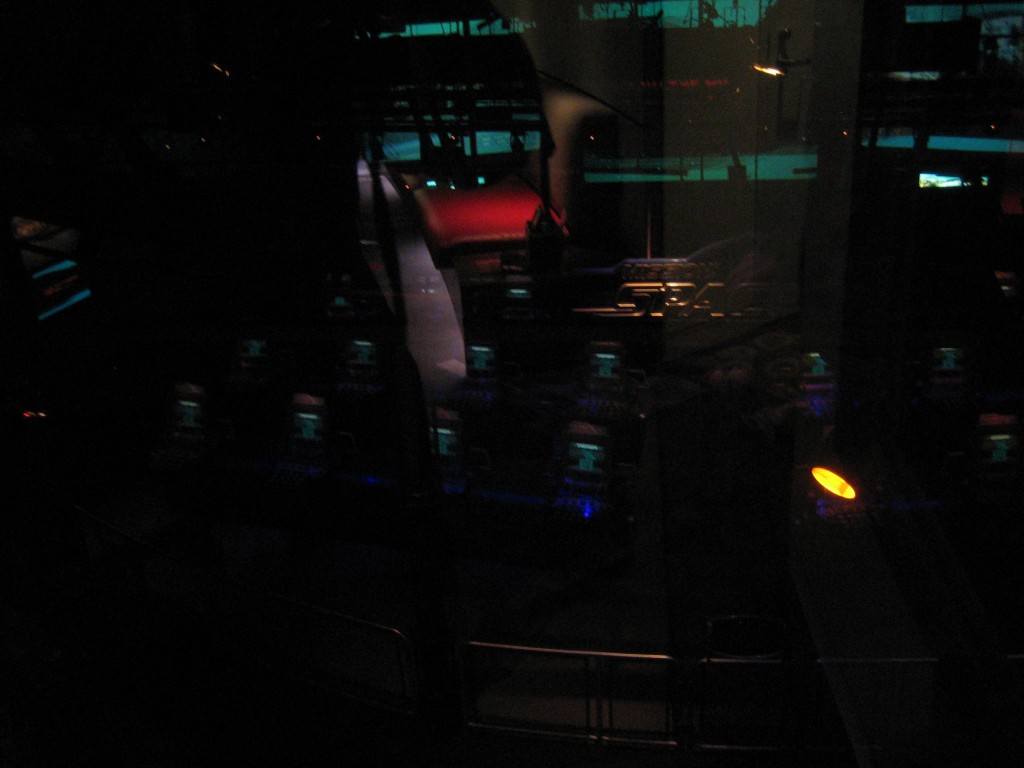 Mission Space HP Lounge View of Mission Space Race