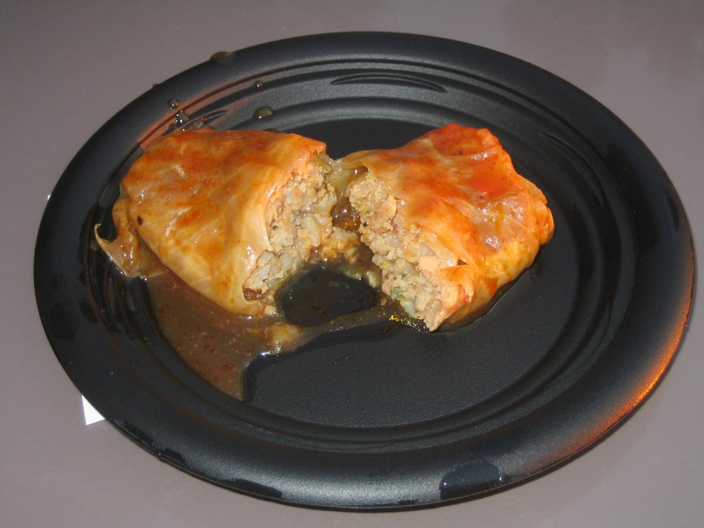 Golabki (Pork Stuffed Cabbage)