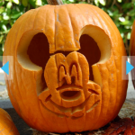 Mickey Mouse Pumpkin Template