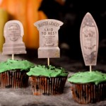 halloween-haunted-mansion-tombstone cupcakes