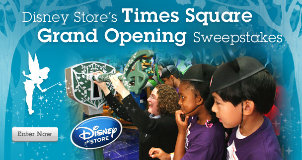 "Your Child Could be Selected to ""Unlock Imagination"" at the New Times Square New York Disney Store"