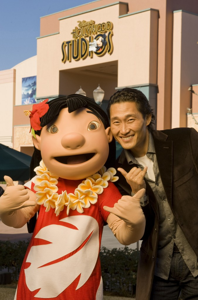 ACTOR DANIEL DAE KIM AT DISNEY WORLD IN FLORIDA -- DEC. 28, 2010