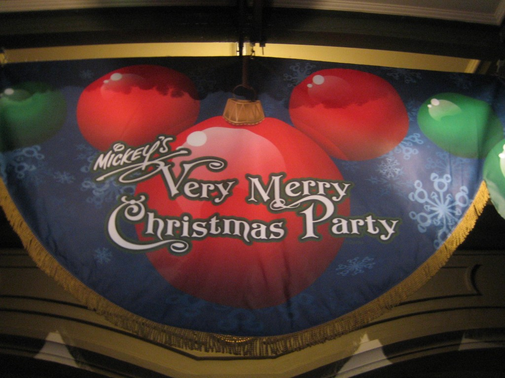 Mickey's Very Merry Christmas Party in the Magic Kingdom