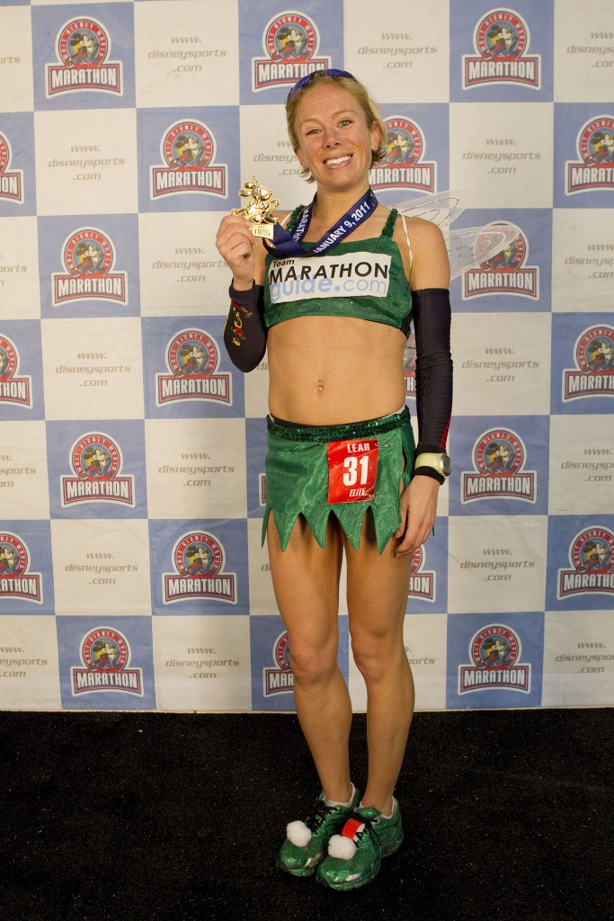 Tinker Bell Captures Female Division Title of 2011 Walt Disney World Marathon