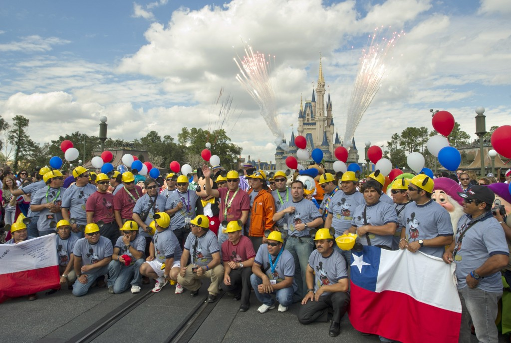 Disney Treats Chilean Miners to a Magical Vacation