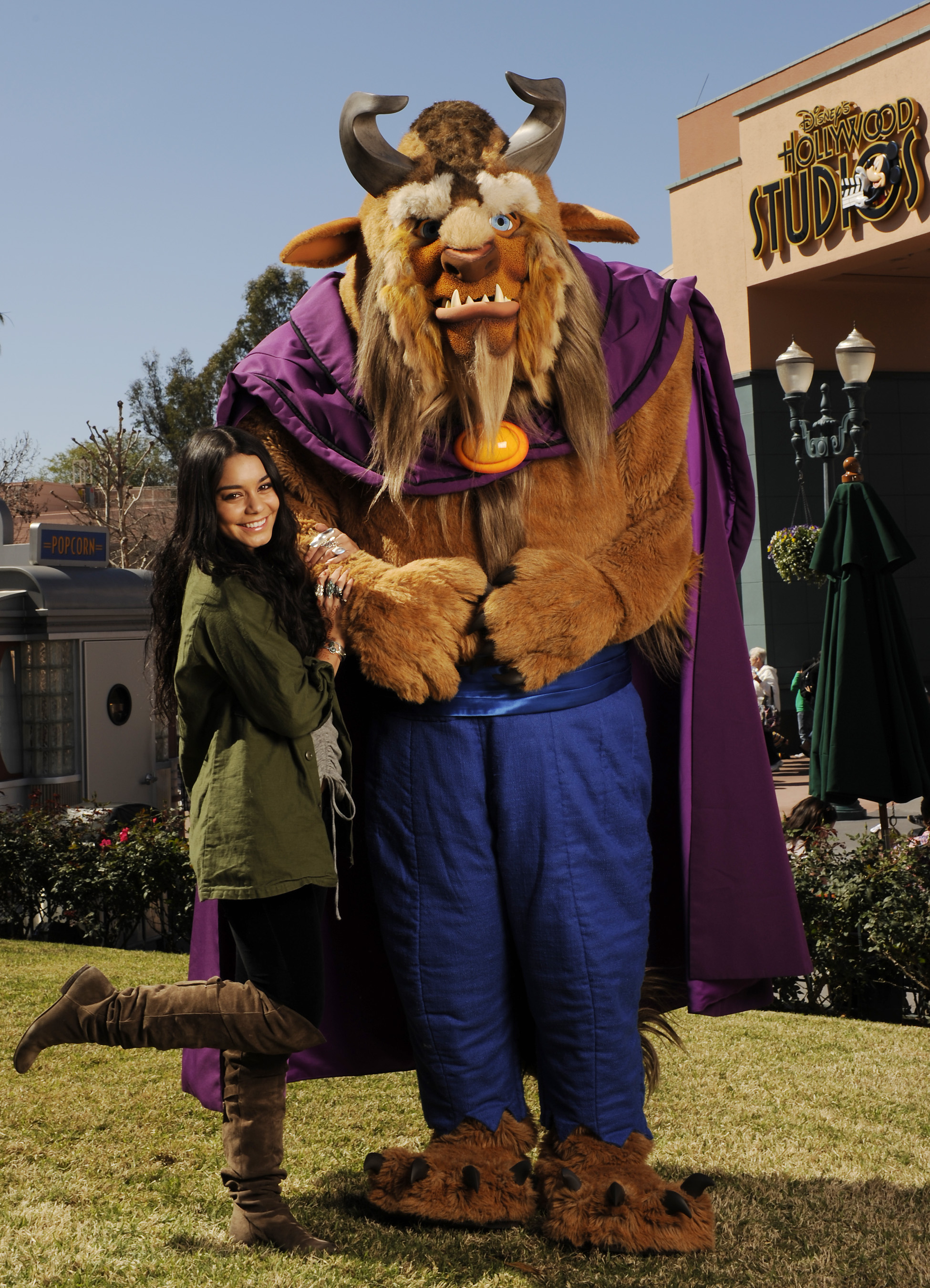 "Vanessa Hudgens Gets ""Beastly"" with the Beast at Disney's Hollywood Studios"