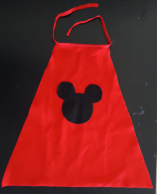 Mickey Mouse cape