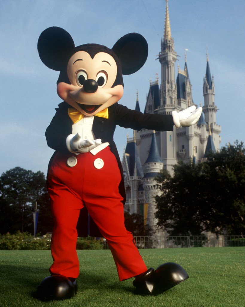 mickey mouse at the magic kingdom