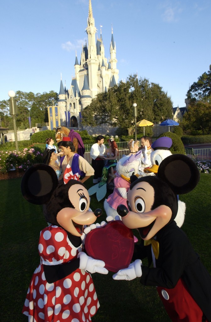 Valentine's Day Magic Kingdom
