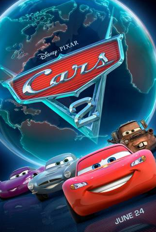 Video: Third Official Cars 2 Movie Trailer Released