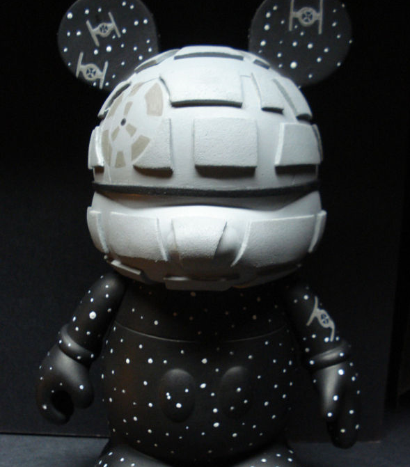 "Death Star Vinylmation via eBay Member ""gblade57collectibles"""