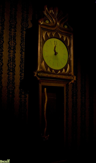Disney Clocks in Honor of Daylight Saving Time