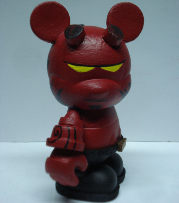 "Hellboy Vinylmation via eBay Member ""gblade57collectibles"""