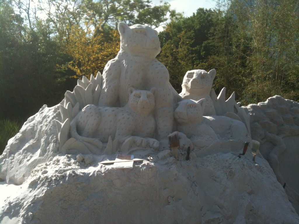 Disney African Cats Sand Castle