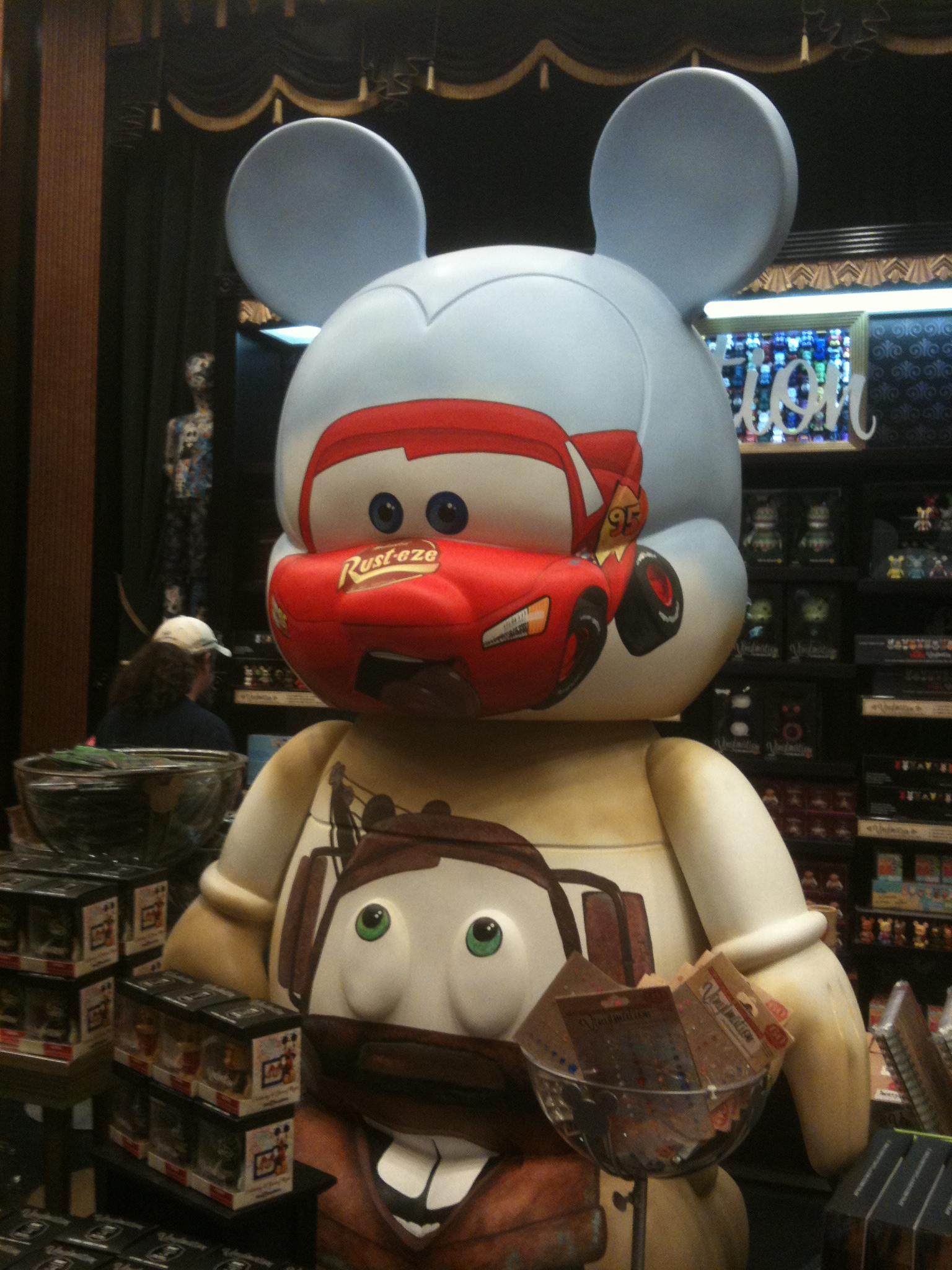 Wordless Wednesday – GIANT Cars Vinylmation