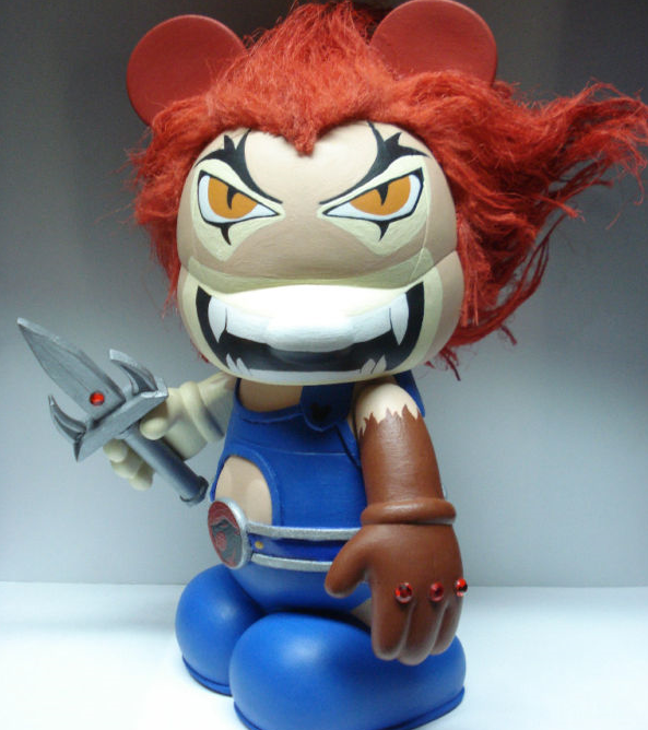 "Thundercats Lion-O Vinylmation via eBay Member ""gblade57collectibles"""