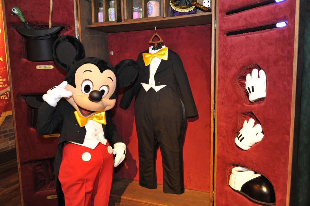 Magician Mickey Mouse Now Greeting Guests at New Magic Kingdom Location