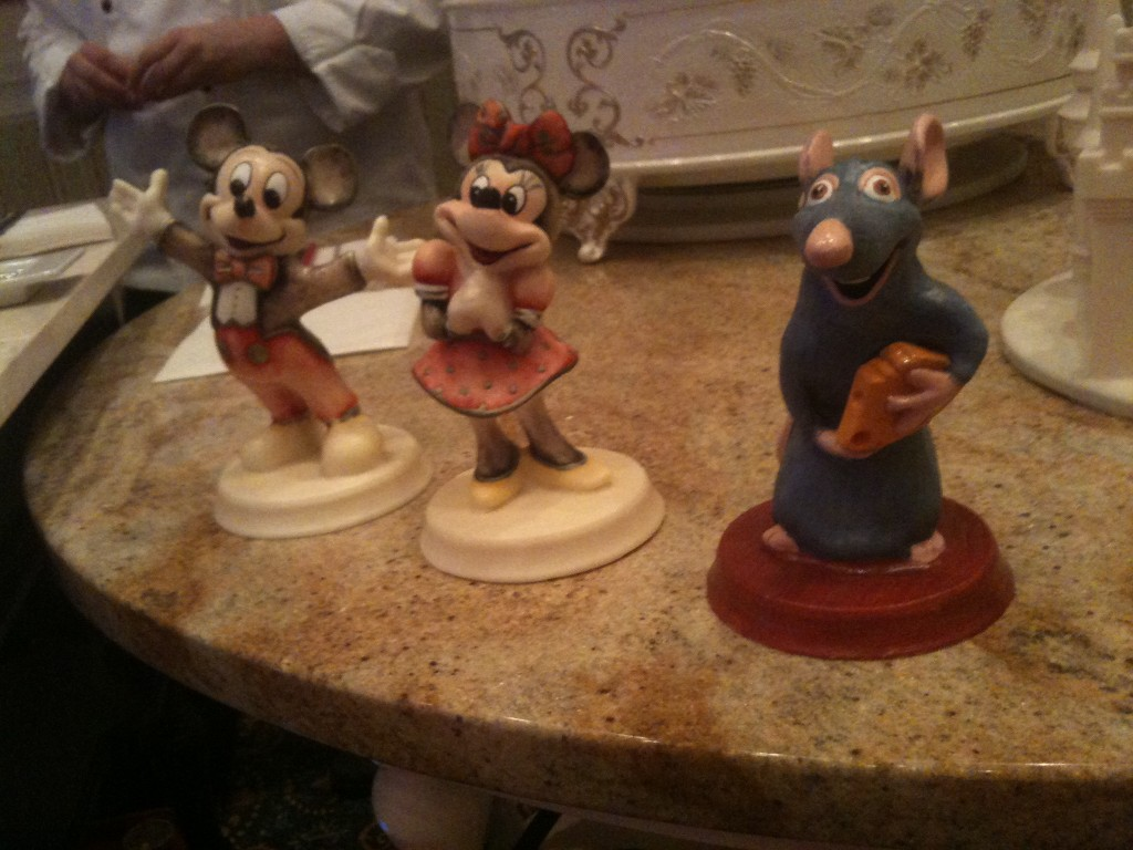 chocolate disney pieces