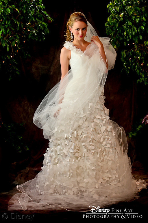 Disney Rapunzel Princess Wedding Gown by Alfred Angelo Unveiled