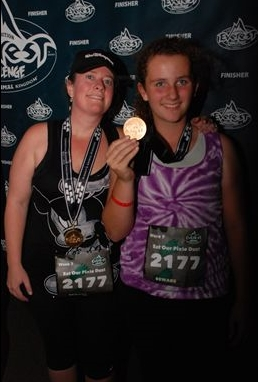 2011 Expedition Everest Challenge Finish Medals