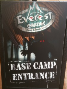 2011 Expedition Everest Base Camp Sign