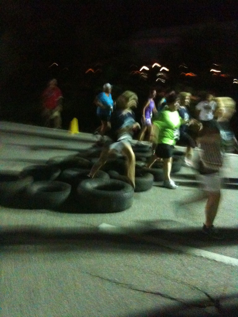 2011 Expedition Everest Challenge Tire Obstacle