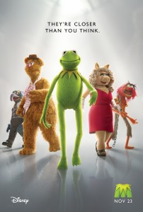 THE MUPPETS 2011 Teaser One-Sheet