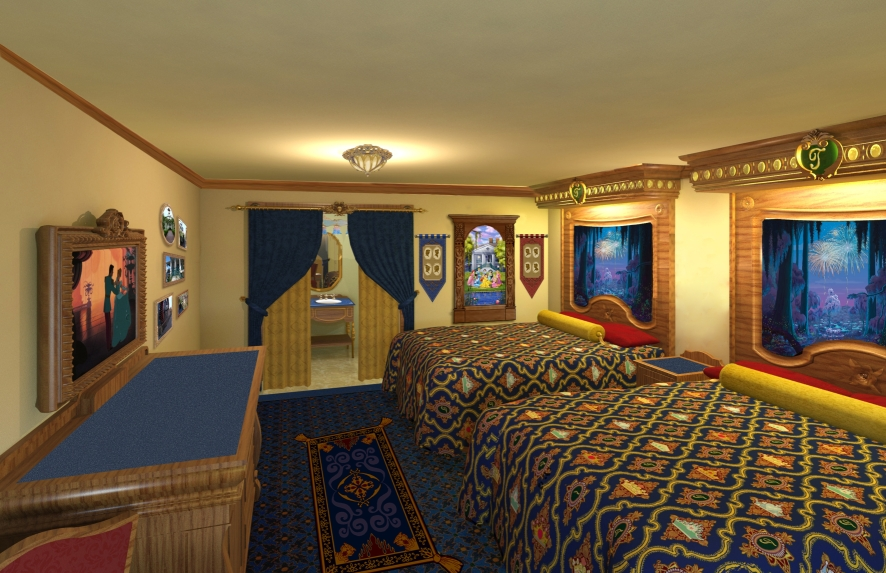 Princess And The Frog Rooms At Disney S Port Orleans Resort Every Day