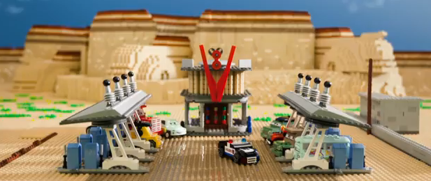 Video – Cars 2 Movie Trailer Recreated Entirely Out of LEGOs