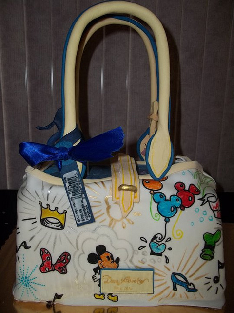 It's a Disney Dooney and Bourke Purse Cake!