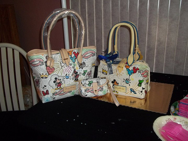 Disney Dooney and Bourke Purse and Cake