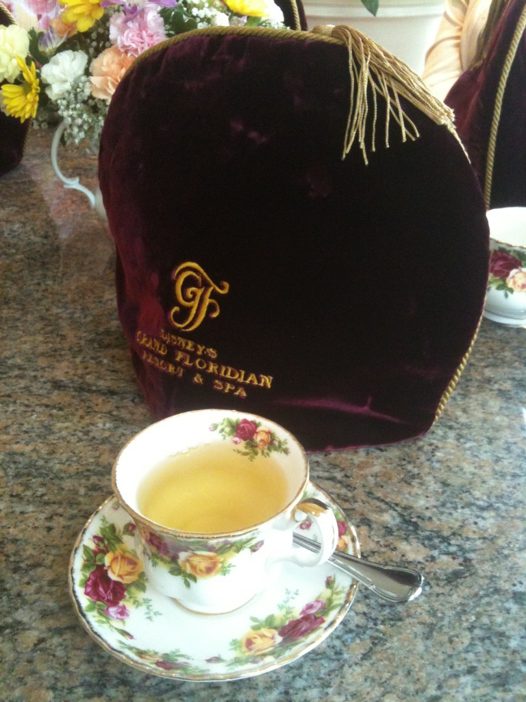 Mango Oolong Tea at the Garden View
