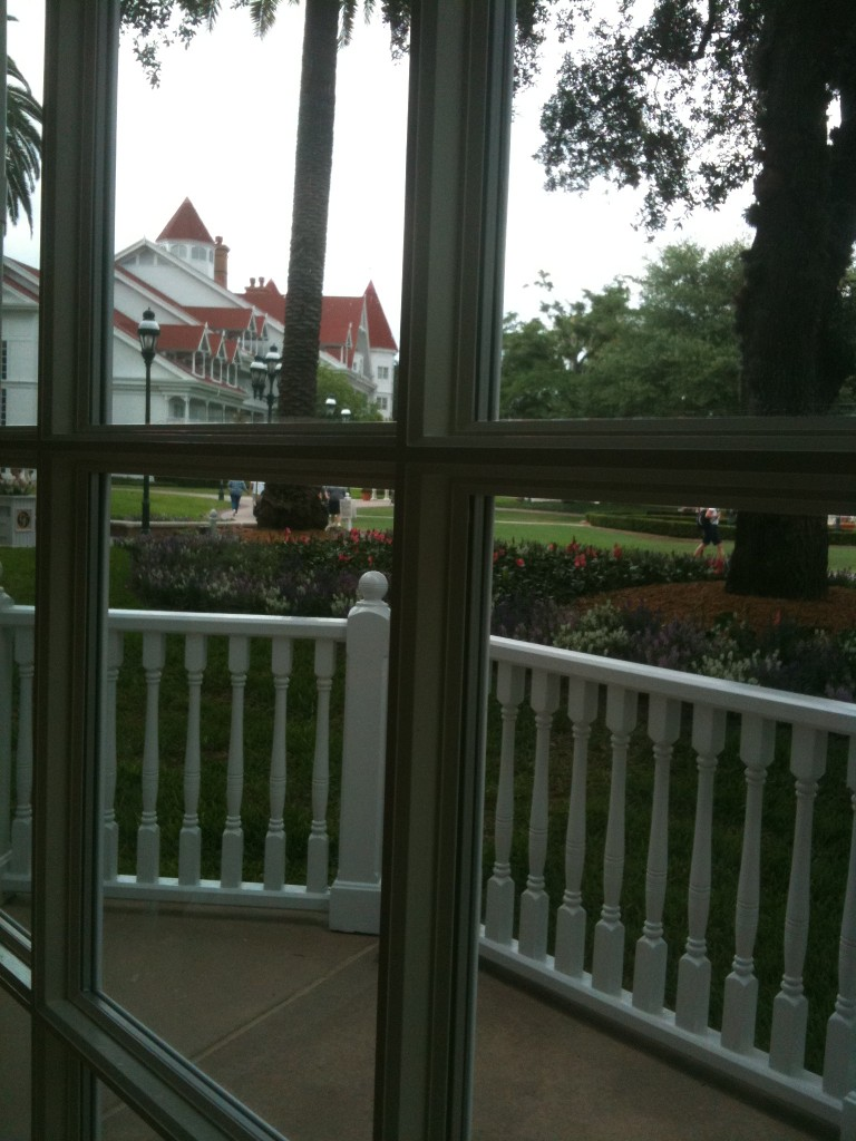 Grand Floridian Tea Room View
