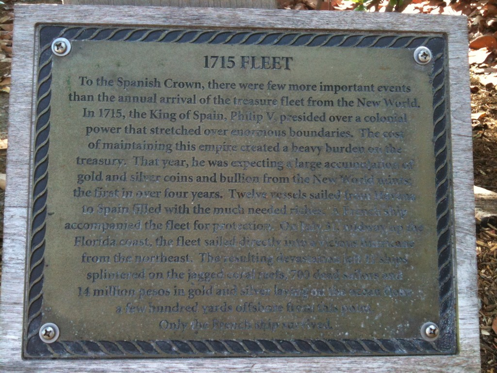 1715 Fleet Plaque at Disney's Vero Beach Resort