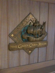 The Green Cabin Room