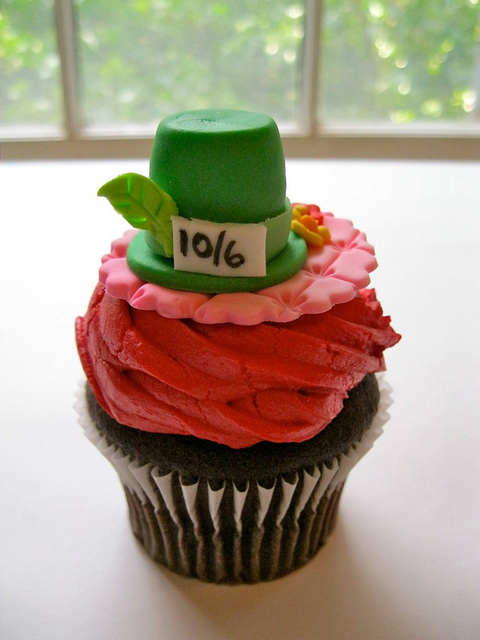 Mad Hatter Cupcake
