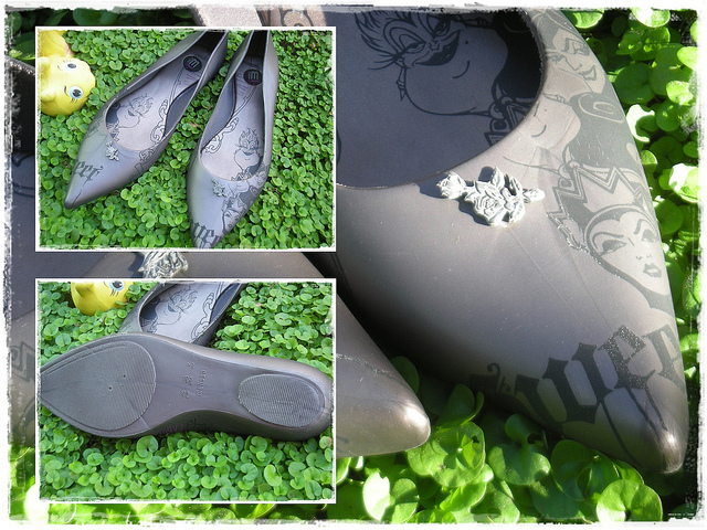 Melissa Gray Disney Villain Plastic Shoe