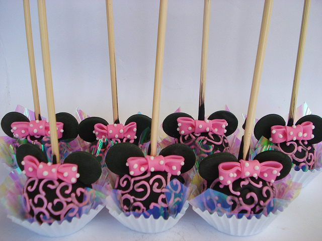 Pink Minnie Mouse Themed Birthday Party Dessert Table Disney Every Day