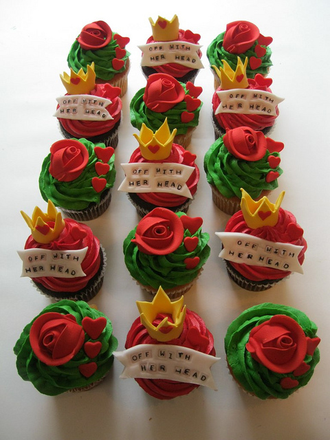 Queen of Hearts Cupcakes